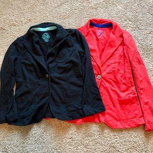 Bundle of 2 cotton blazers